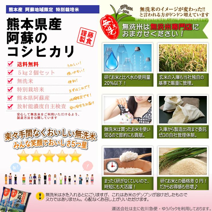九州特別栽培米阿蘇産コシヒカリ