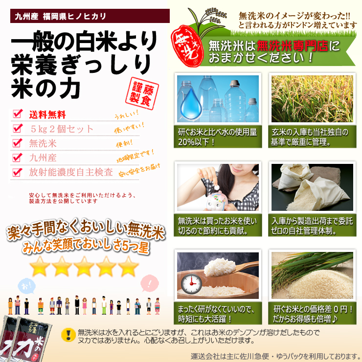 一般の白米より栄養ぎっしり米の力